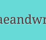 DaeandWrite