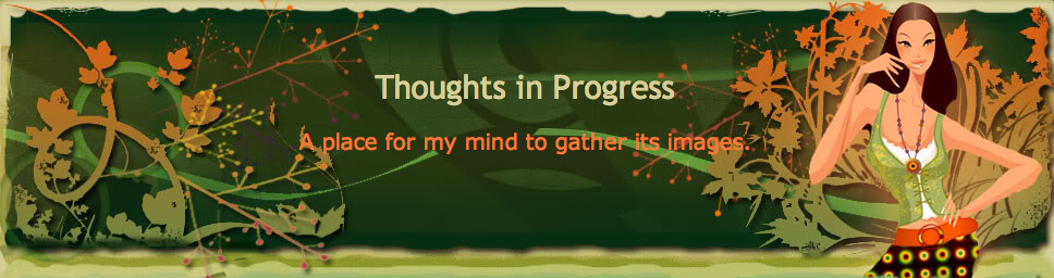Thoughts in Progress