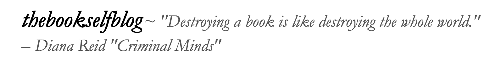 The Book Self Blog