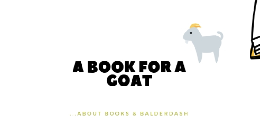 A Book For a Goat