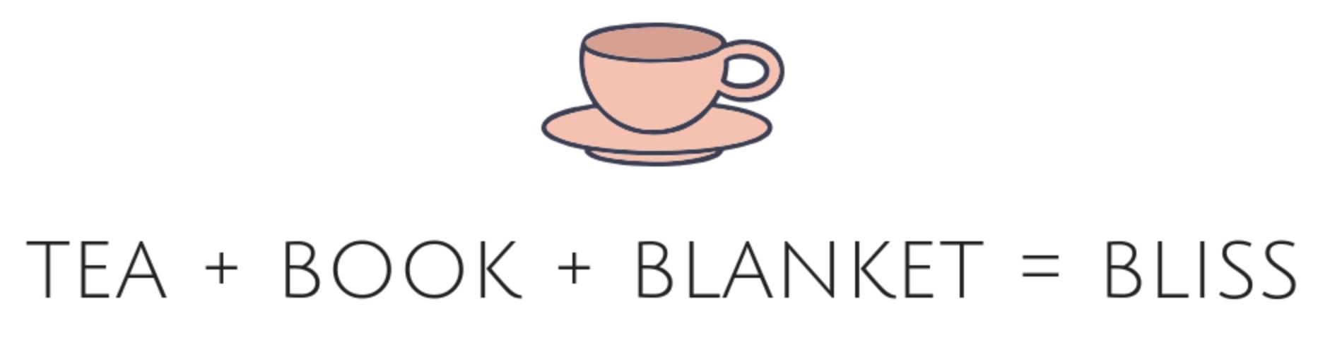 Tea Book Blanket