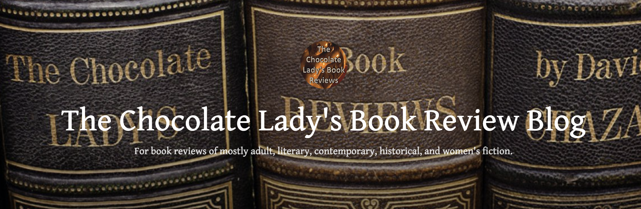 The Chocolate Lady's Book Review Blog