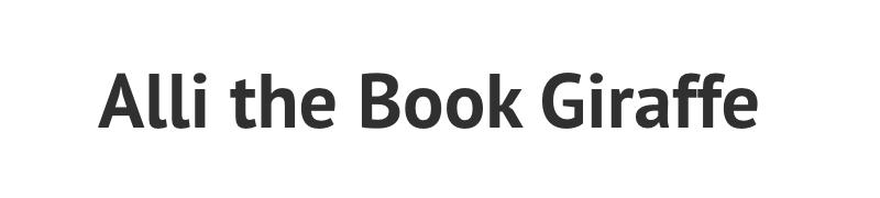 Alli the Book Giraffe